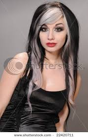 hilites for grey or white hair best 25 black and silver hair ideas on pinterest black and grey