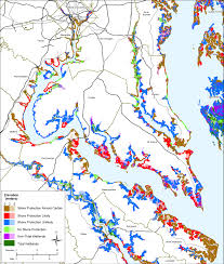 Road Map Virginia by Sea Level Rise Planning Maps