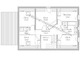 plan de maison a etage 5 chambres plans de pavillons avec étage ou combles aménagés 2