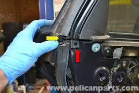 audi a4 b6 rear window regulator replacement 2002 2008 pelican