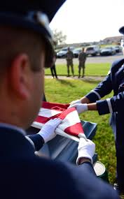 Flag Folding Ceremony Sharp Crisp Motionless Whiteman Afb Honor Guard Performs With