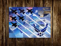 air force collectibles air force art print home decor military