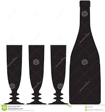 champagne silhouette png image gallery silouhette champagne