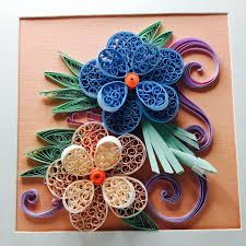 floral 3d quilled wall art quilling paper designs unique
