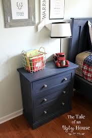 Ikea Hemnes Nightstand Blue Best 25 Ikea Hack Nightstand Ideas On Pinterest Bedside Table