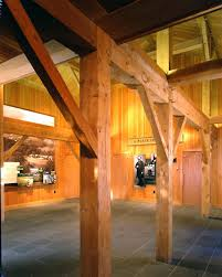 ceiling beams and timber trusses for billings farm and museum
