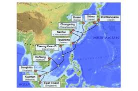Undersea Cable Map Long Distance Asian Internet Hookups Are Now Faster Then Ever