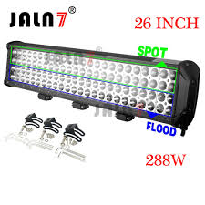 Led Light Bar For Cars by Led Light Bar 288w 26 Inch 4 Row Car Led Light Auto Light Jaln7