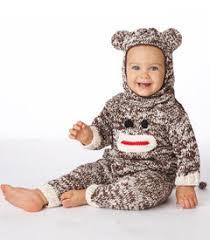 Sock Monkey Costume Unique Baby Halloween Costumes