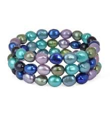 colored pearl bracelet images Honora pearls lyle husar designs fine diamonds jewelry