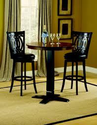 hillsdale dynamic designs pub table 4975ptbbrn 4975ptbblk