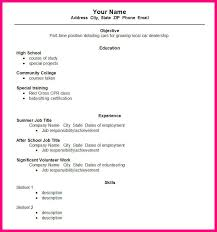 high resume templates microsoft word student template