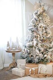 tree decorated in white trees