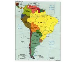 Westward Expansion Blank Map by Amateur Radio Prefix Map Of Western South America Maps Of Western