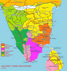 India Language Map by Ancient Tamil Kinglines The Glorious Tamil Kalabhras And The