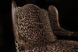 animal print fabric leather fabric chair colorado style home