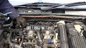 rocker cover gasket replacement peugeot 406 2 0 hdi 110 youtube