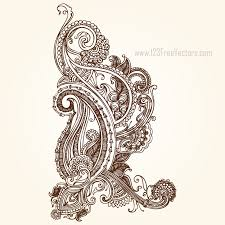 henna paisley designs by 123freevectors on deviantart