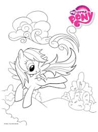 coloriage my little pony sur hugolescargot com