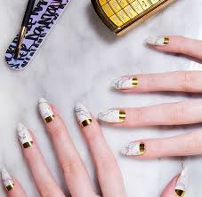 pastel colour blocks to pearls gorgeous wedding nails for the