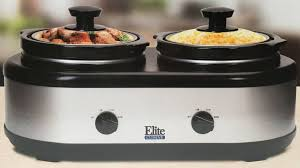 elite cuisine elite cuisine dual dipper cooker buffet usa discount store