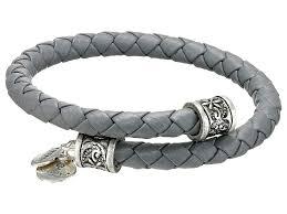 braided leather wrap bracelet images Lyst alex and ani braided leather wrap bracelet in metallic jpeg