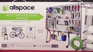 installing the allspace wall organization system youtube