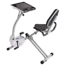 Recumbent Bike Under Desk by Stamina 2 In 1 Recumbent Exercise Bike Workstation And Standing