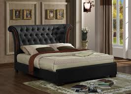 King Size Leather Bed Frame Grand Luxury Kingsize Leather Bed Frame Cheap Beds Grand
