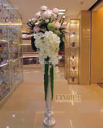 Florist Vases Wholesale Fashion Large Floor Vase Set Artificial Flower Simple European