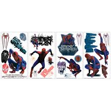 the amazing spider man removable wall decals wall2wall the amazing spider man removable wall decals