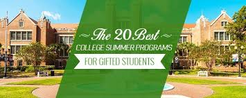 Top College Home Work Samples Good Topics For Education Research by The 20 Best College Summer Programs For Gifted Students Best