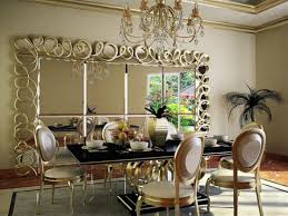 Large Dining Room Mirrors Bathroom Cabinets Bar Mirrors Dining Room Length Image