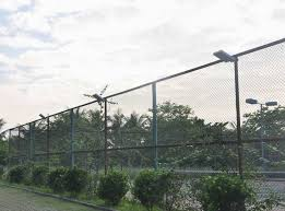 solar lights for chain link fence solar lighting project 5w all in one solar street lights enkonn solar
