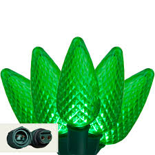 led lights commercial 25 green c9 led lights