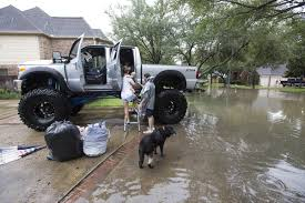 monster truck show in texas in harvey swamped houston rescues by canoe kayak u2014 even monster
