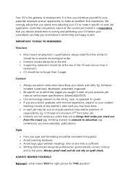 Best Font Size For Professional Resume by Employability Skills Cv Writing Experienced Teacher