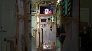 spirit halloween austin tx zombie containment unit malfunction lights on look at our custom