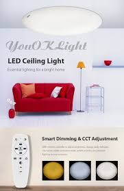 youoklight remote control led ceiling light 110v 41 85 online