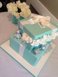 Tiffany Blue Baby Shower Cake - tiffany u0026 co baby shower cakes party xyz