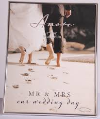 wedding autograph frame wedding anniversary frames