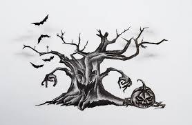 halloween tattoo design by mortar on deviantart