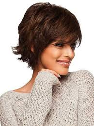 hairstyles for over 70 with cowlick at nape choppy bob coiffures 2016 style pinterest hairstyles short