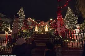 dyker heights holiday lights dyker heights showcase holiday lights displays daily mail online