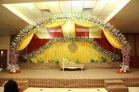 banquet hall decorated for wedding picture of hotel infiniti