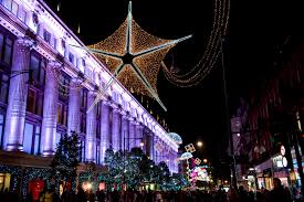 New Christmas Lights by Oxford Street Retailers Seek New Christmas Lights Design In