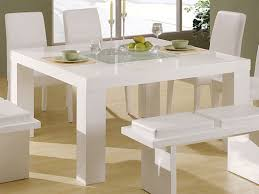 modern white dining room table modern white dining table table decoration ideas