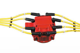 accel 8141r red corrected gm hei distributor cap for v8 engine