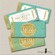halloween express printable coupon faux gold foil printable coupon book mothers day gift coupons