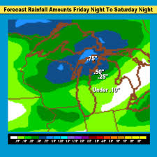 Map Of Lower Michigan by Michigan Weekend Weather Temps Climb To 70s South Very Wet North